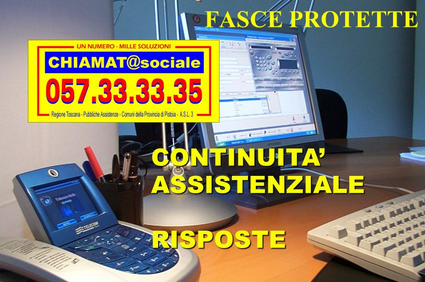 FASCE PROTETTE CONTINUITA' ASSISTENZIALE RISPOSTE