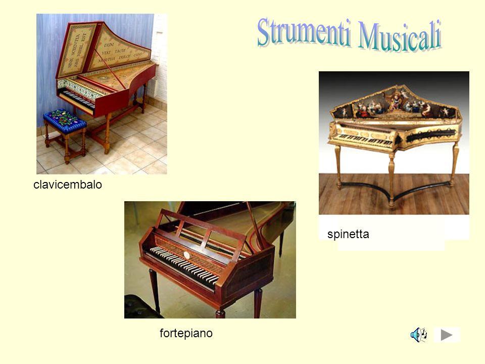 Strumenti Musicali clavicembalo spinetta fortepiano