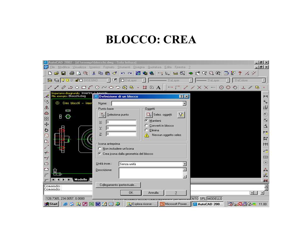 BLOCCO: CREA