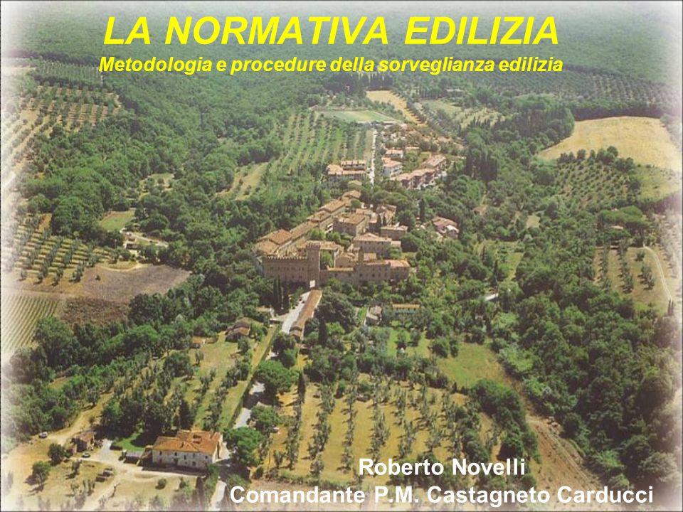 Roberto Novelli Comandante P.M. Castagneto Carducci