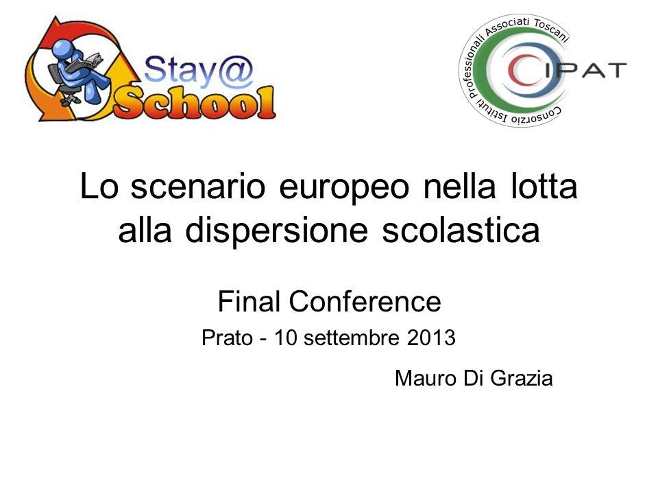 Lo scenario europeo nella lotta alla dispersione scolastica