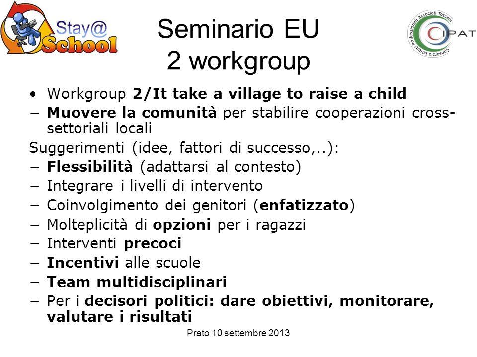 Seminario EU 2 workgroup