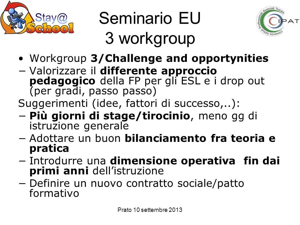 Seminario EU 3 workgroup