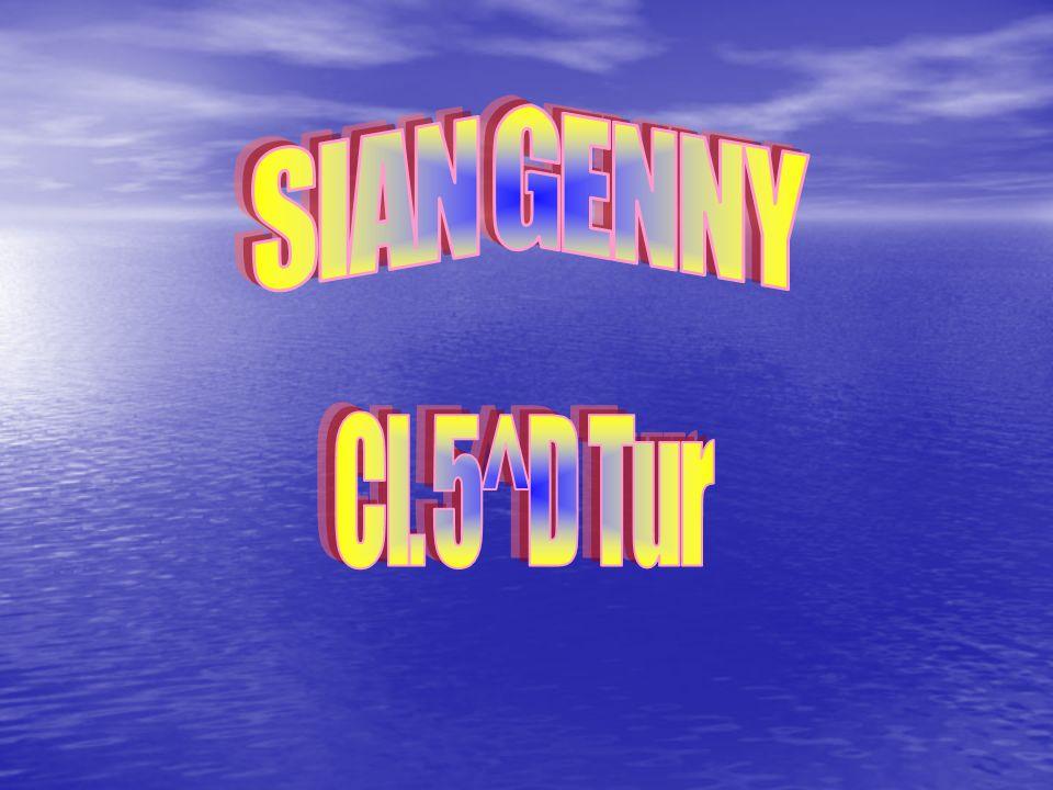 SIAN GENNY Cl. 5^D Tur
