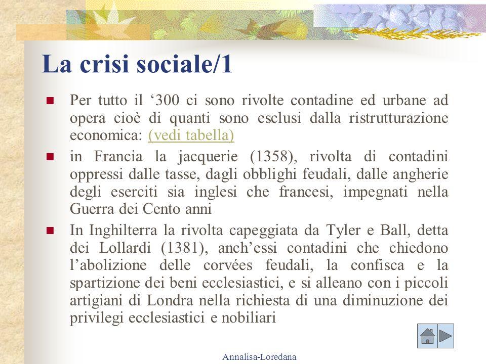 La crisi sociale/1