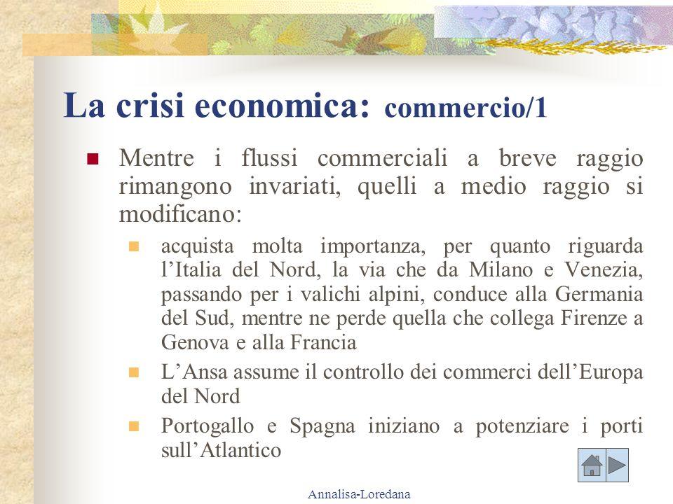La crisi economica: commercio/1
