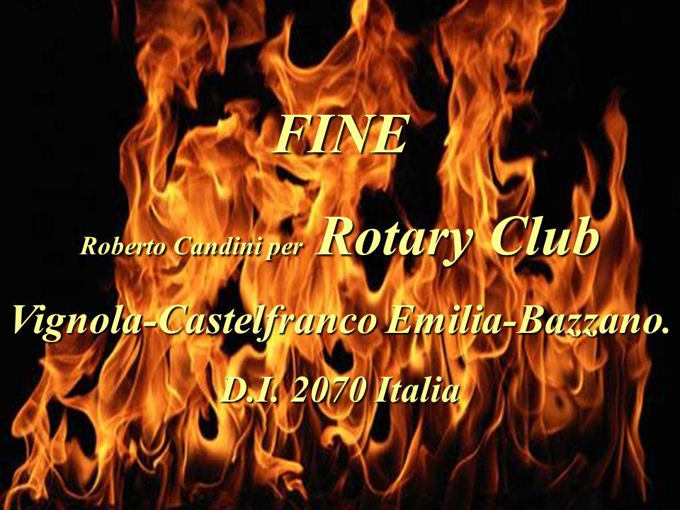 Roberto Candini per Rotary Club Vignola-Castelfranco Emilia-Bazzano.
