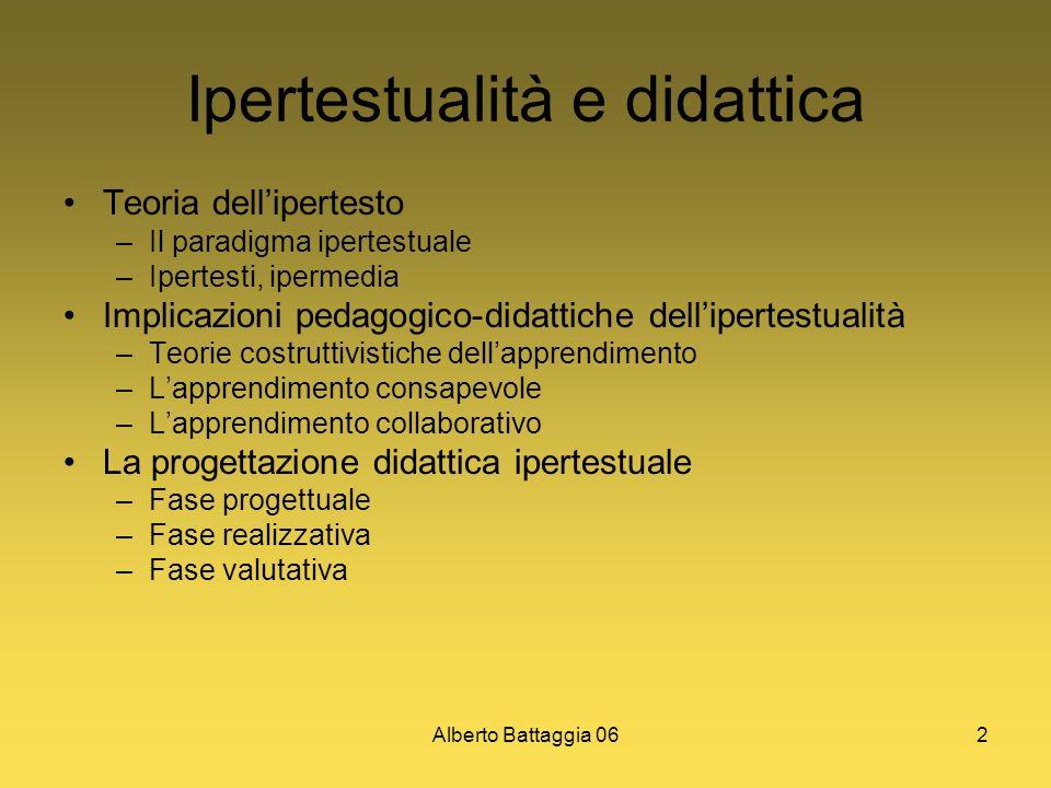 Ipertestualità e didattica