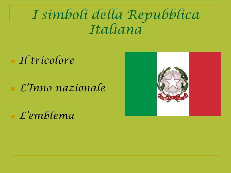I simboli della Repubblica Italiana