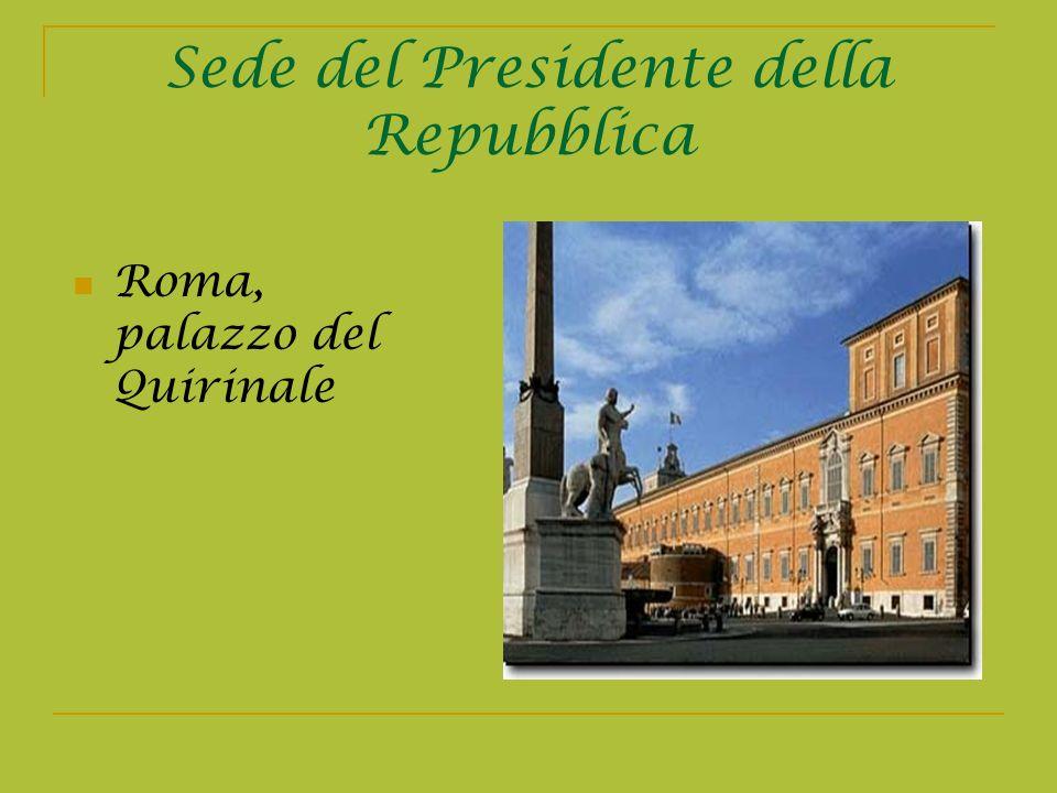 Sede del Presidente della Repubblica