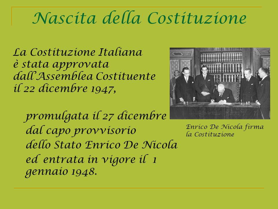 Nascita della Costituzione