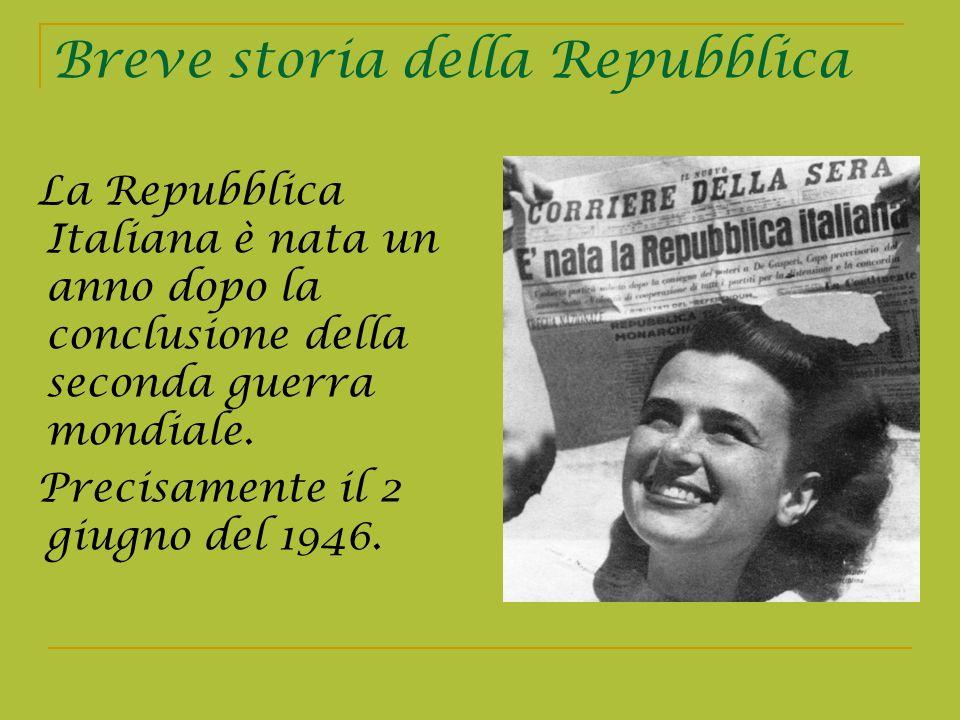 Breve storia della Repubblica