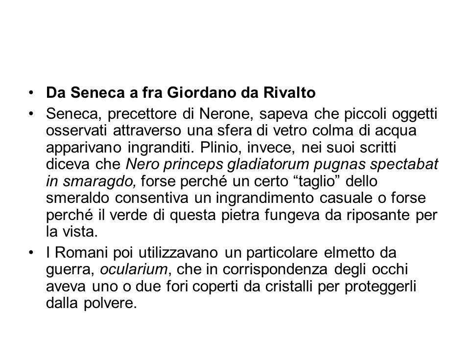Da Seneca a fra Giordano da Rivalto