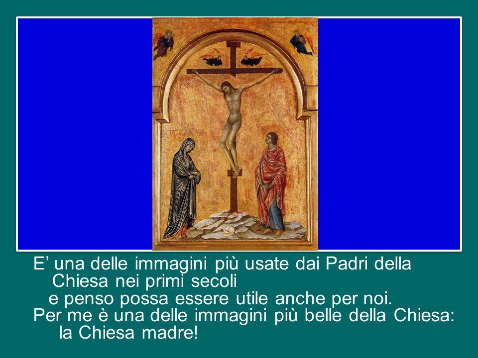 E' una delle immagini più usate dai Padri della Chiesa nei primi secoli e penso possa essere utile anche per noi.