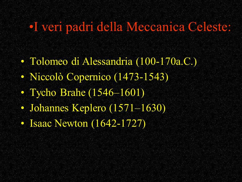 I veri padri della Meccanica Celeste: