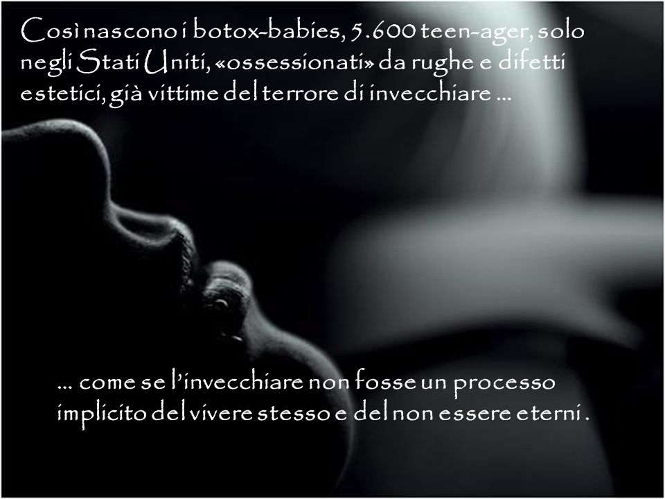 Così nascono i botox-babies, 5