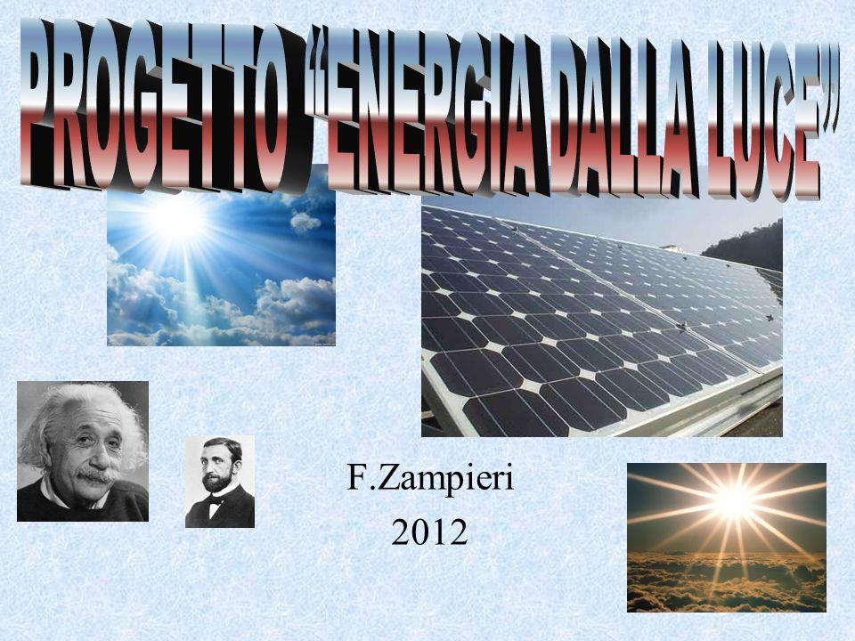 PROGETTO ENERGIA DALLA LUCE