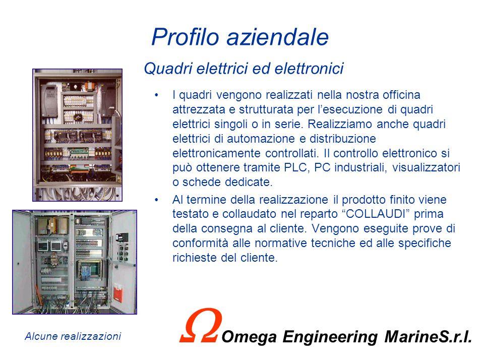 Profilo aziendale Quadri elettrici ed elettronici