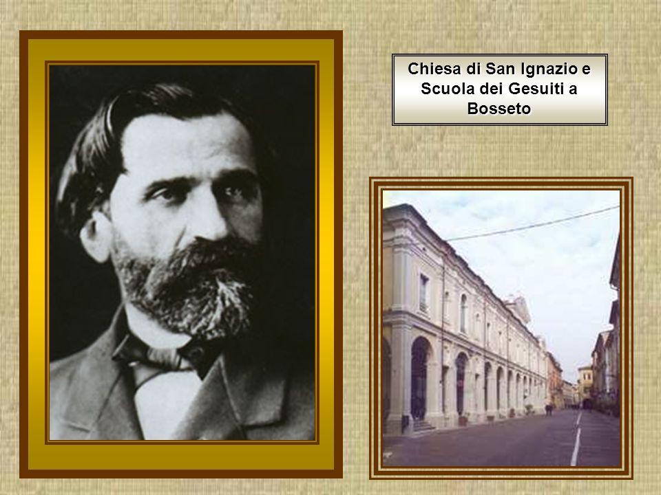 Chiesa di San Ignazio e Scuola dei Gesuiti a Bosseto