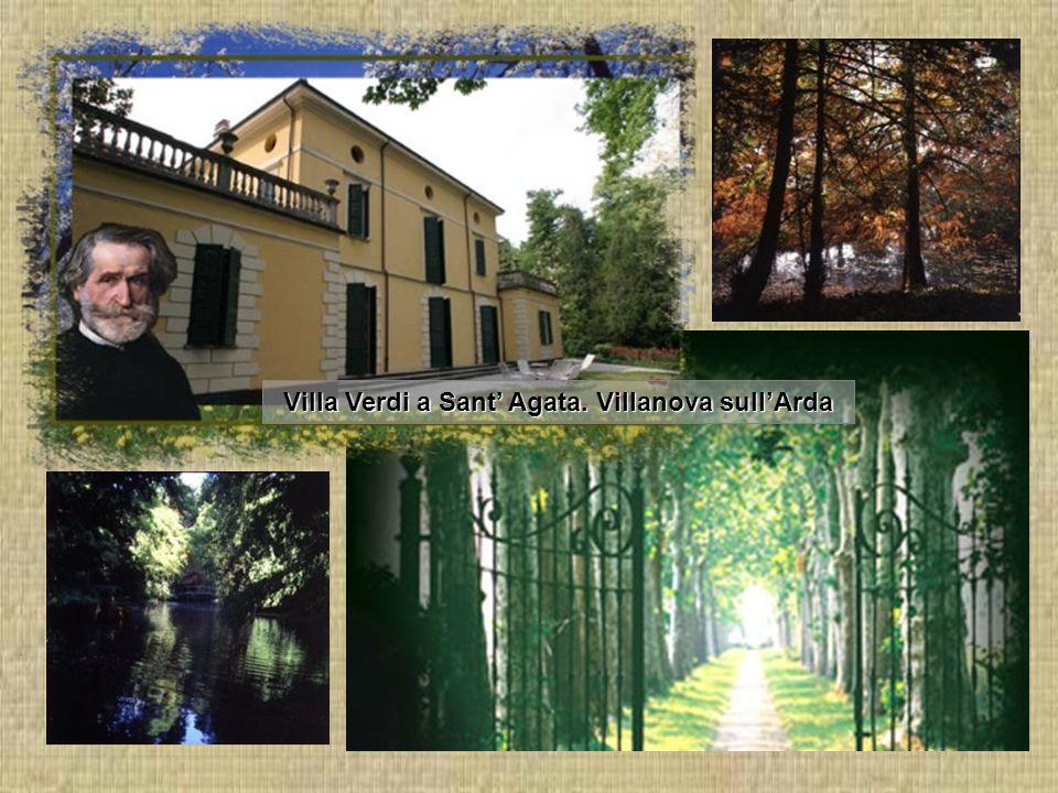 Villa Verdi a Sant' Agata. Villanova sull'Arda