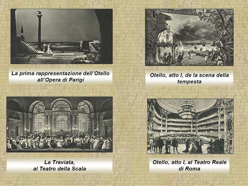 La prima rappresentazione dell'Otello all'Opera di Parigi
