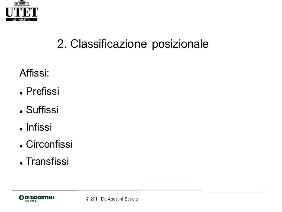 2. Classificazione posizionale