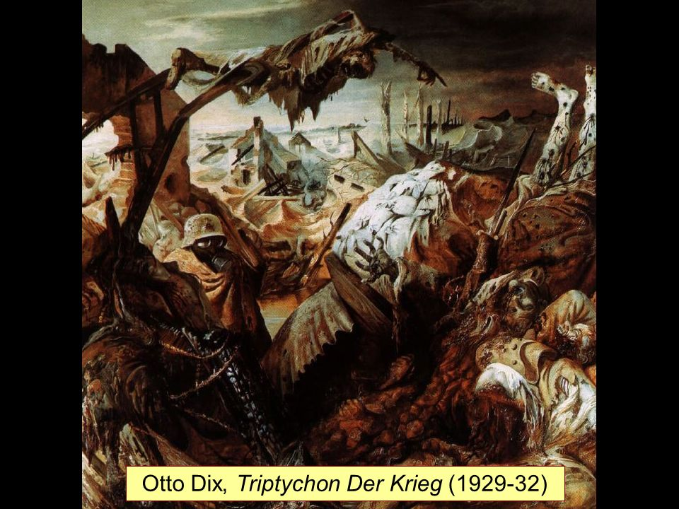 Otto Dix, Triptychon Der Krieg (1929-32)