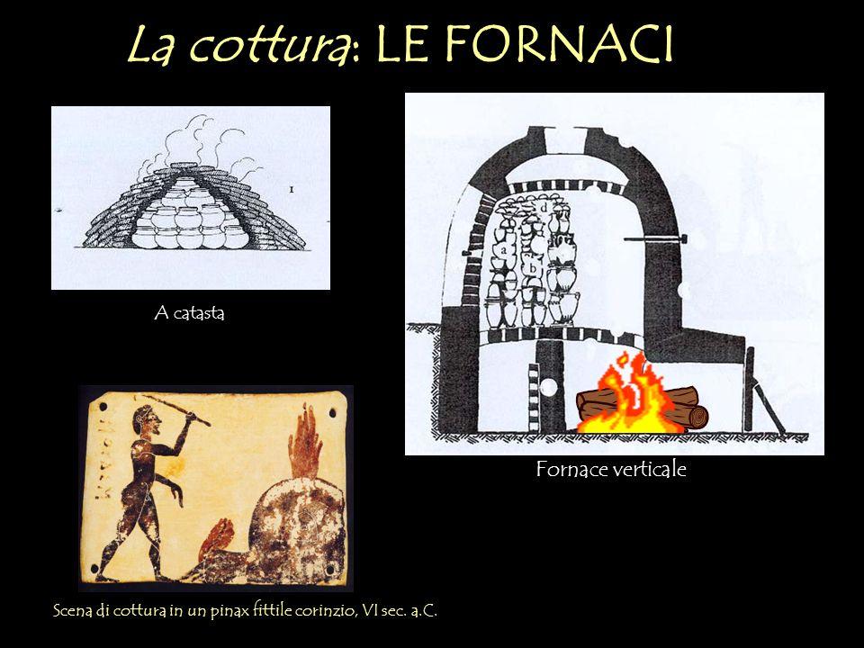 La cottura: LE FORNACI Fornace verticale A catasta