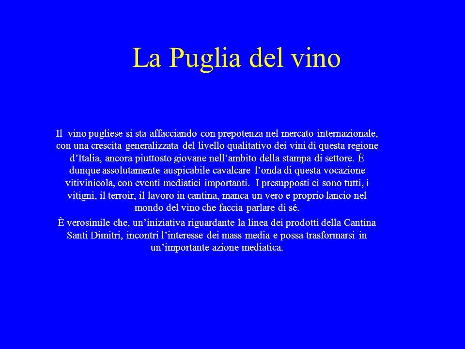 La Puglia del vino
