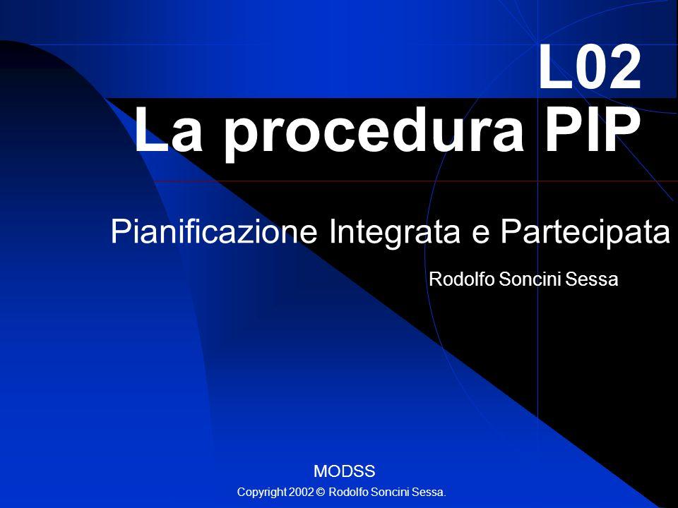 Pianificazione Integrata e Partecipata