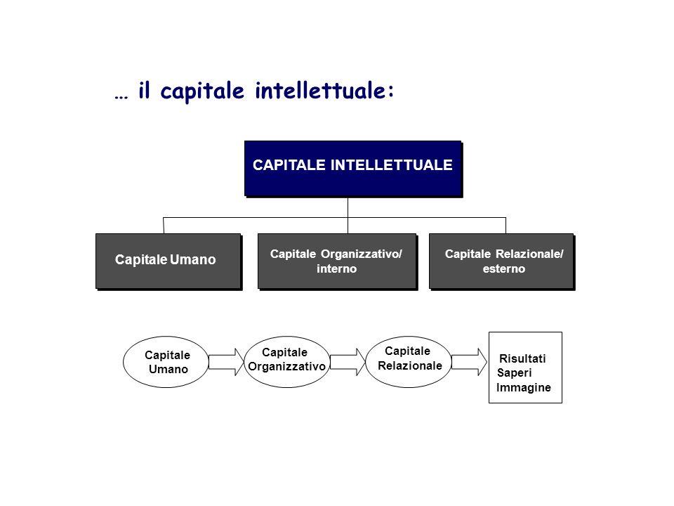 Capitale Organizzativo/ Capitale Relazionale/