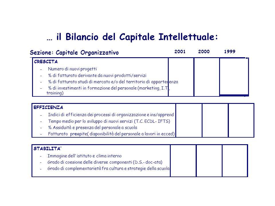 … il Bilancio del Capitale Intellettuale:
