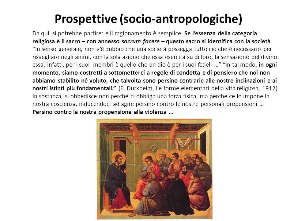 Prospettive (socio-antropologiche)