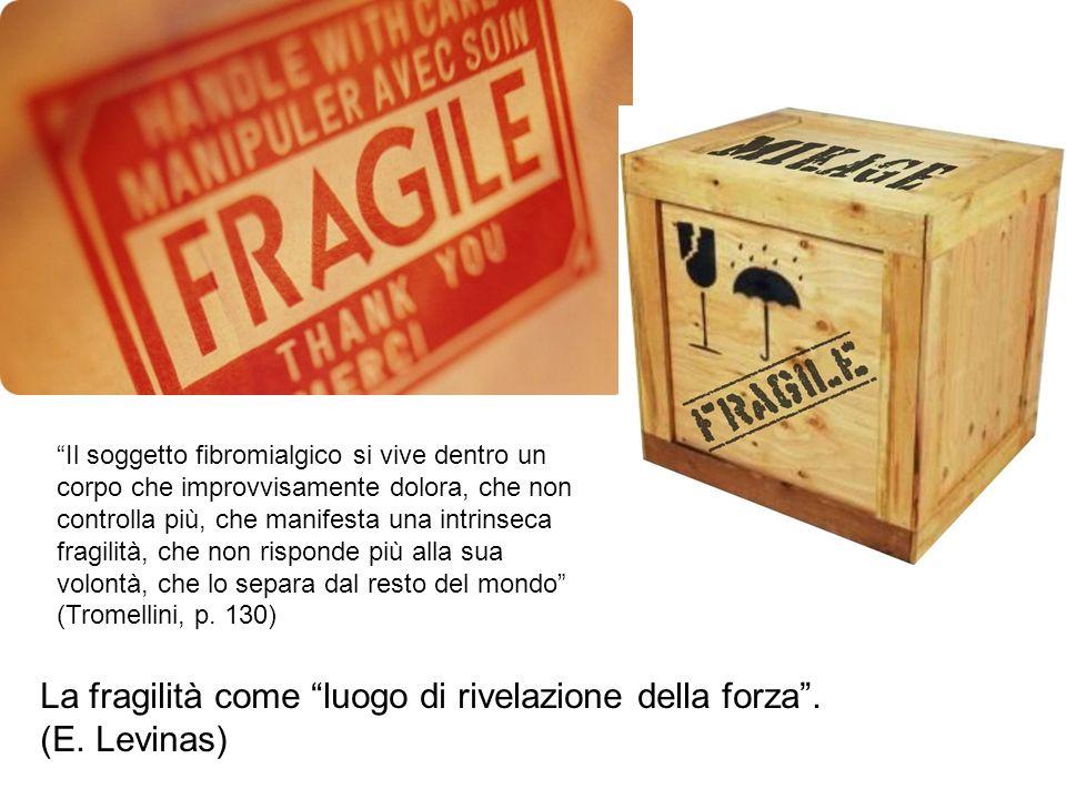 La fragilità come luogo di rivelazione della forza . (E. Levinas)