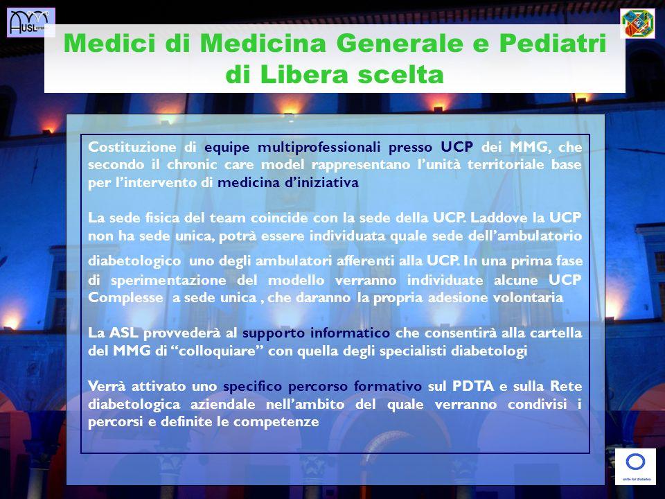 Medici di Medicina Generale e Pediatri di Libera scelta