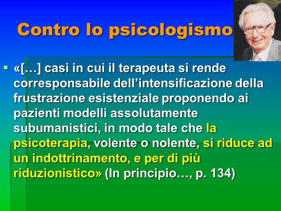 Contro lo psicologismo