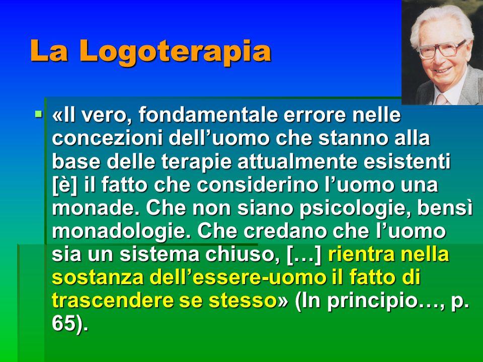La Logoterapia