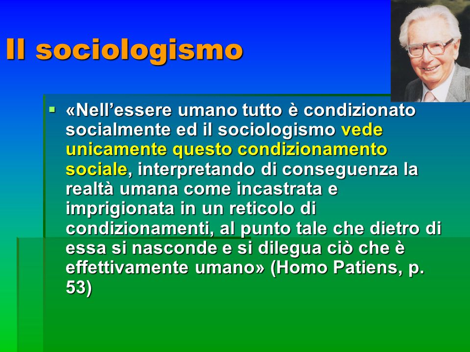 Il sociologismo
