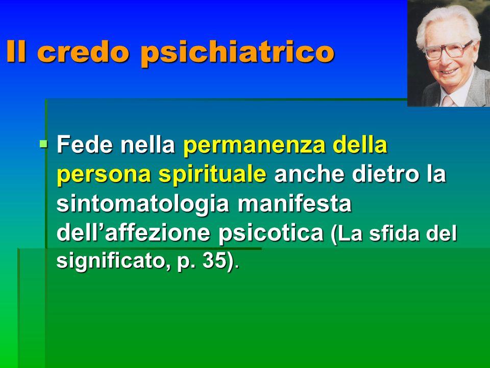 Il credo psichiatrico