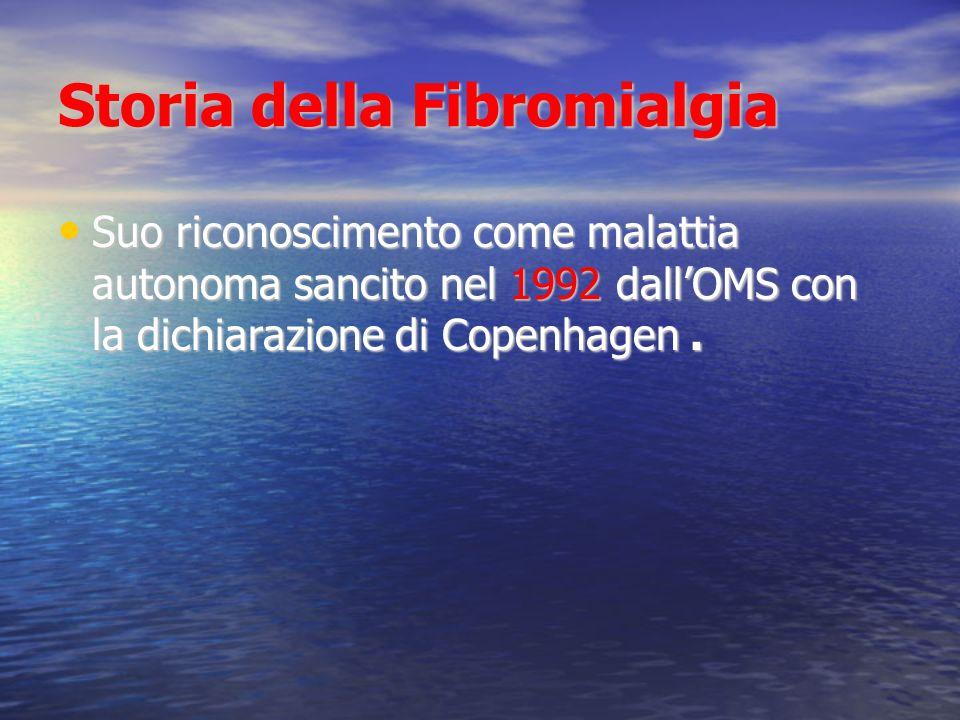 Storia della Fibromialgia