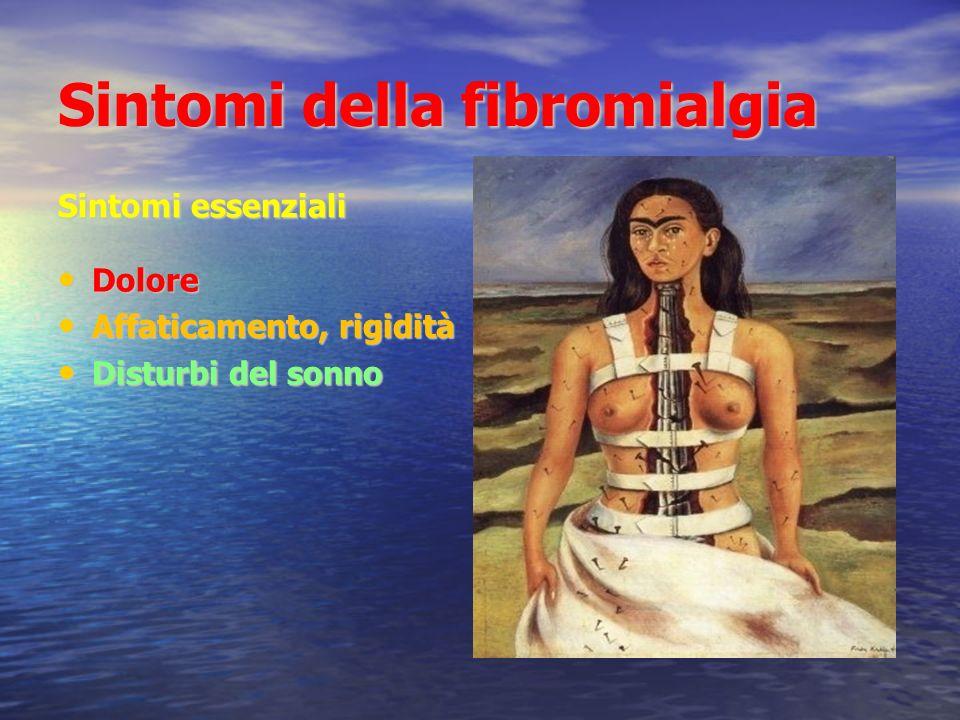 Sintomi della fibromialgia