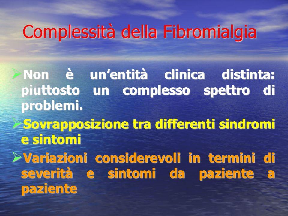 Complessità della Fibromialgia