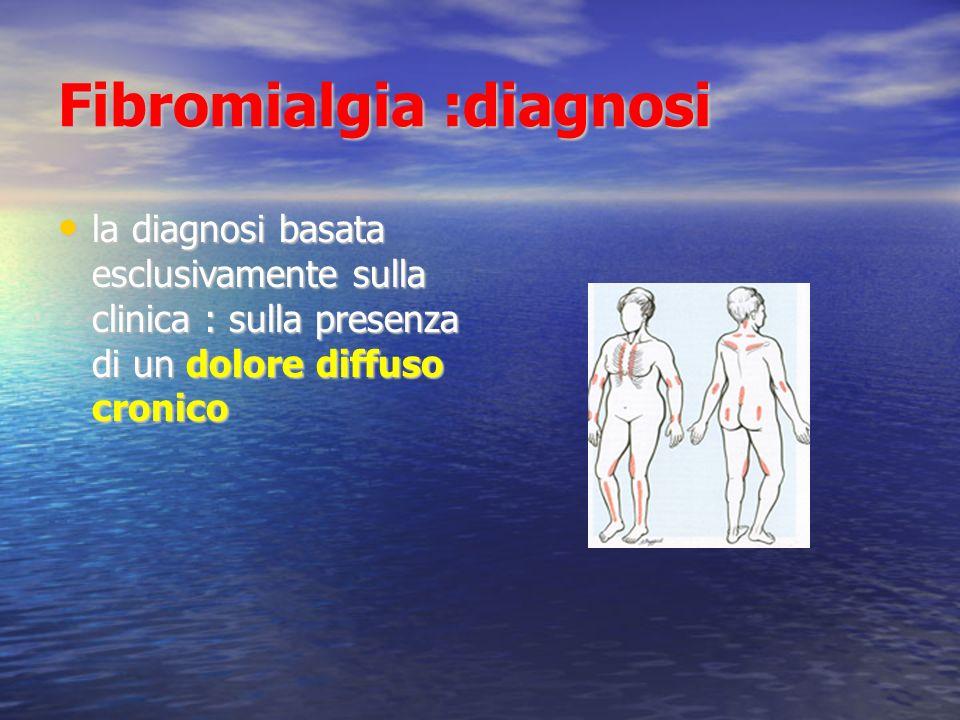 Fibromialgia :diagnosi