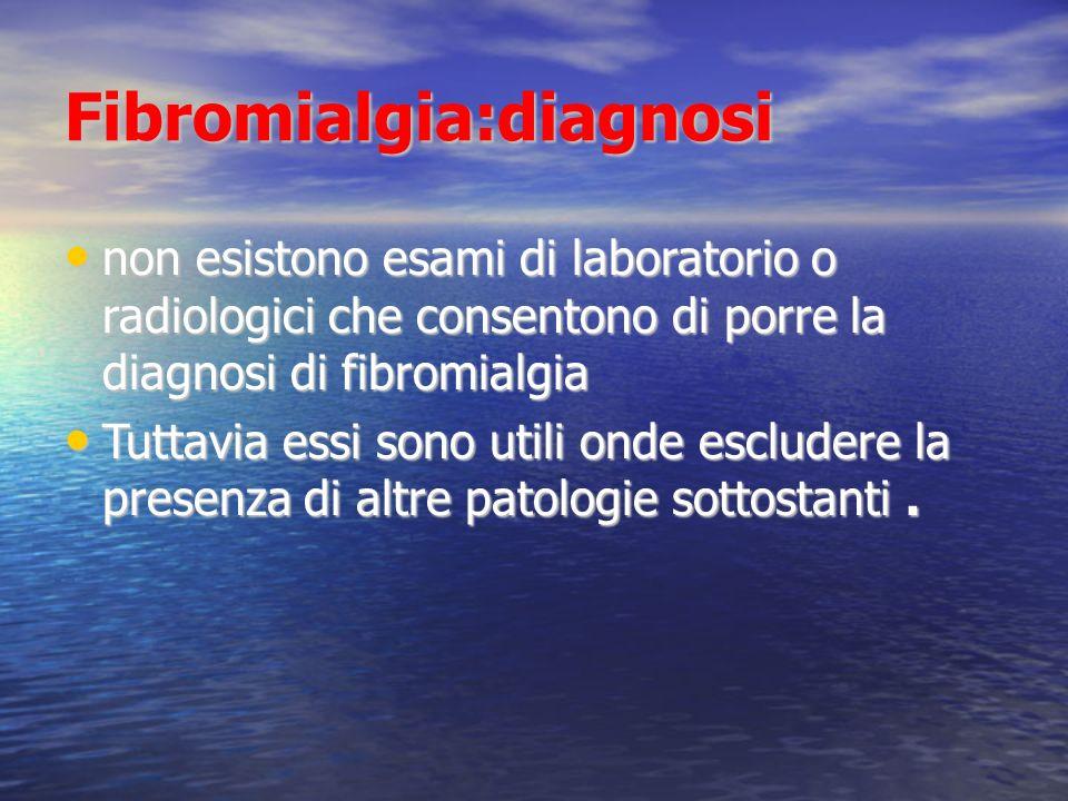 Fibromialgia:diagnosi