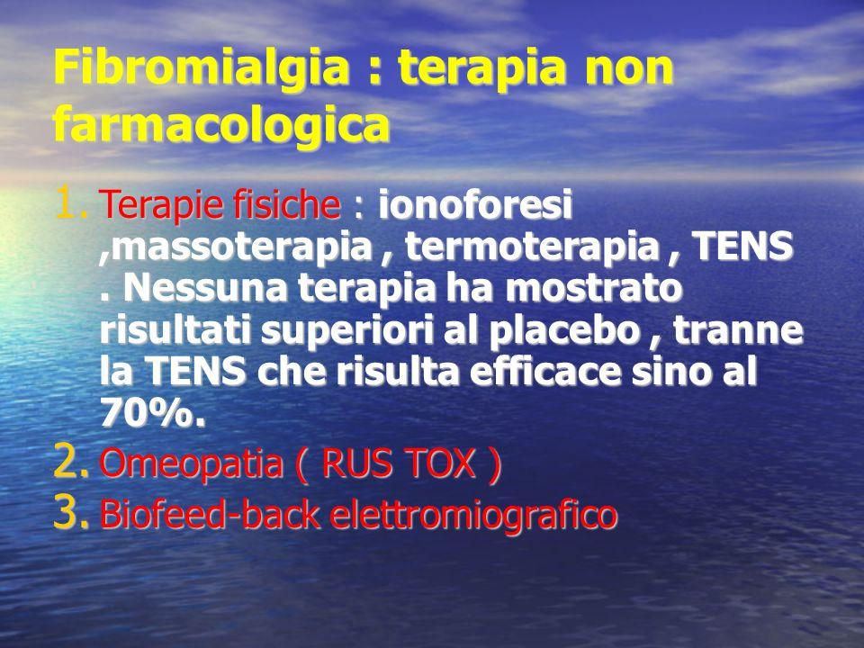 Fibromialgia : terapia non farmacologica