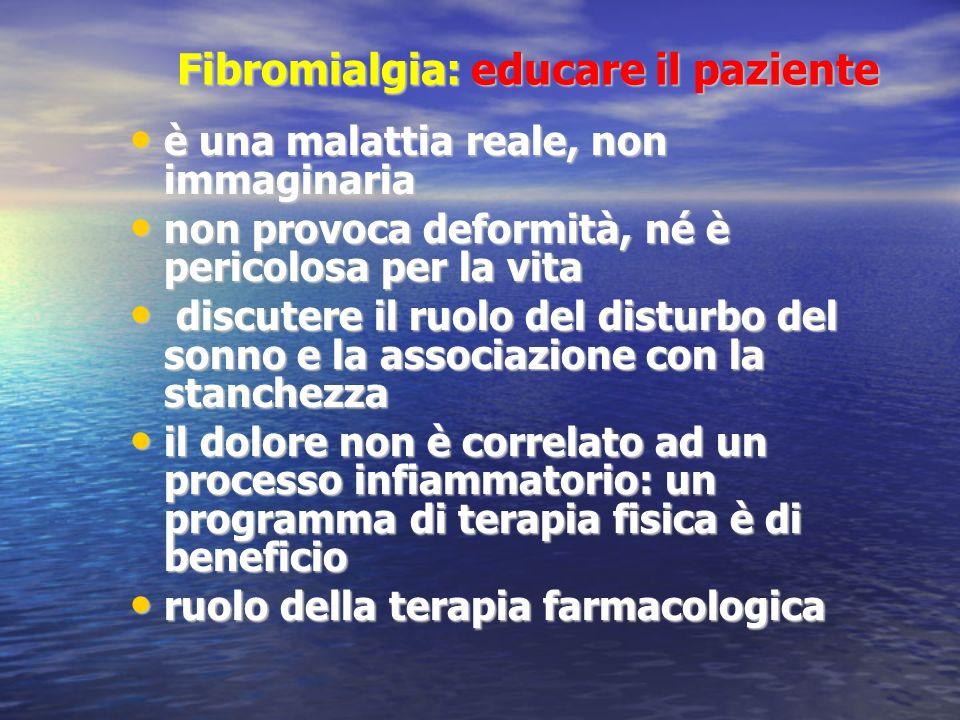 Fibromialgia: educare il paziente