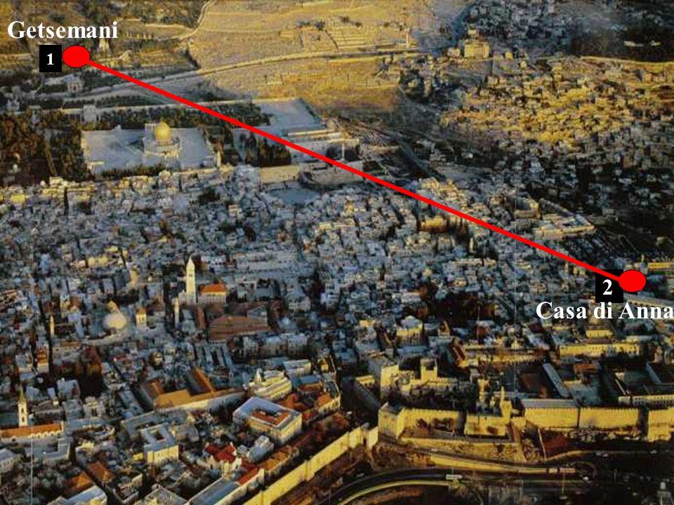 Getsemani 1 2 Casa di Anna