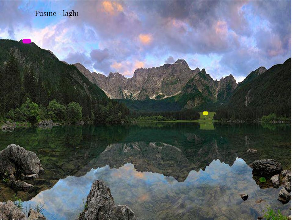 Fusine - laghi