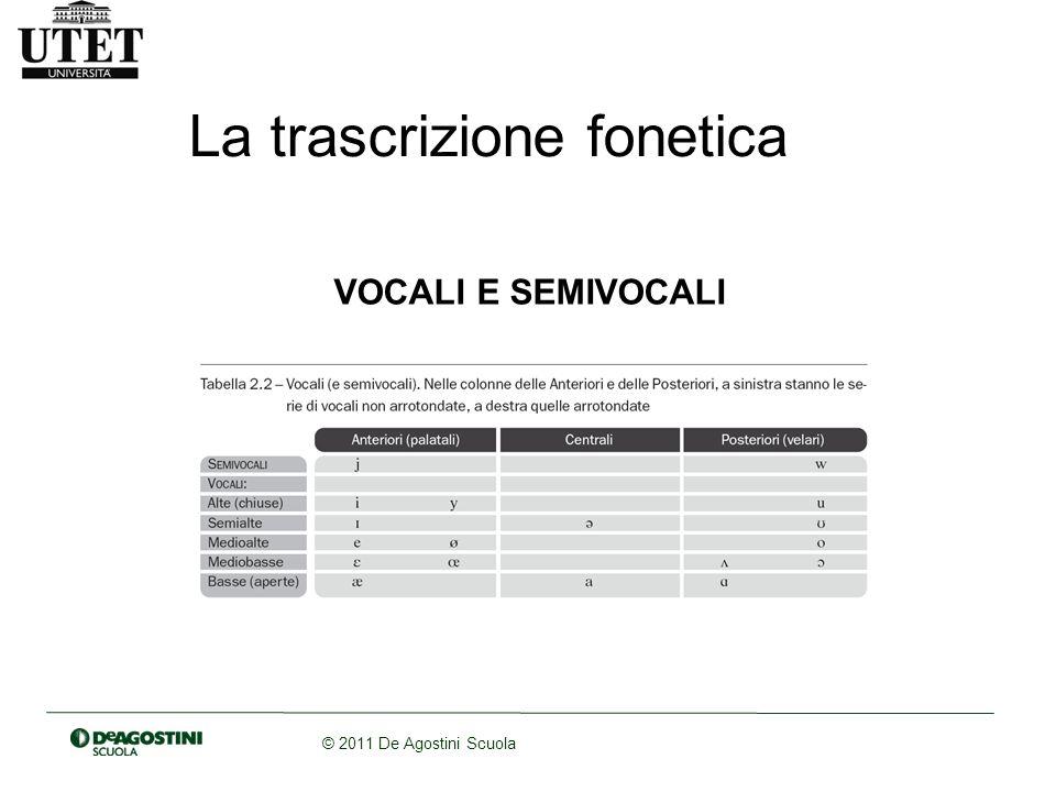 La trascrizione fonetica