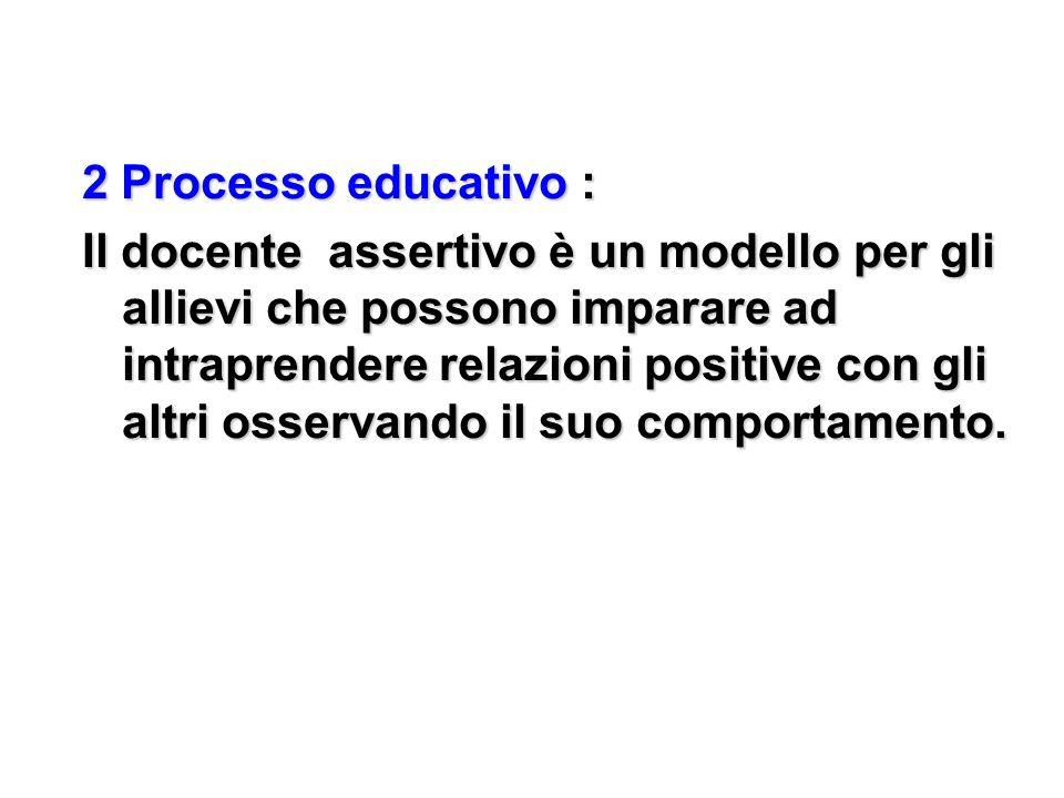 2 Processo educativo :